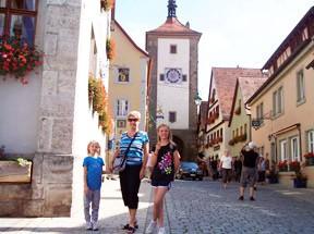 Family Travel Rothenburg Germany